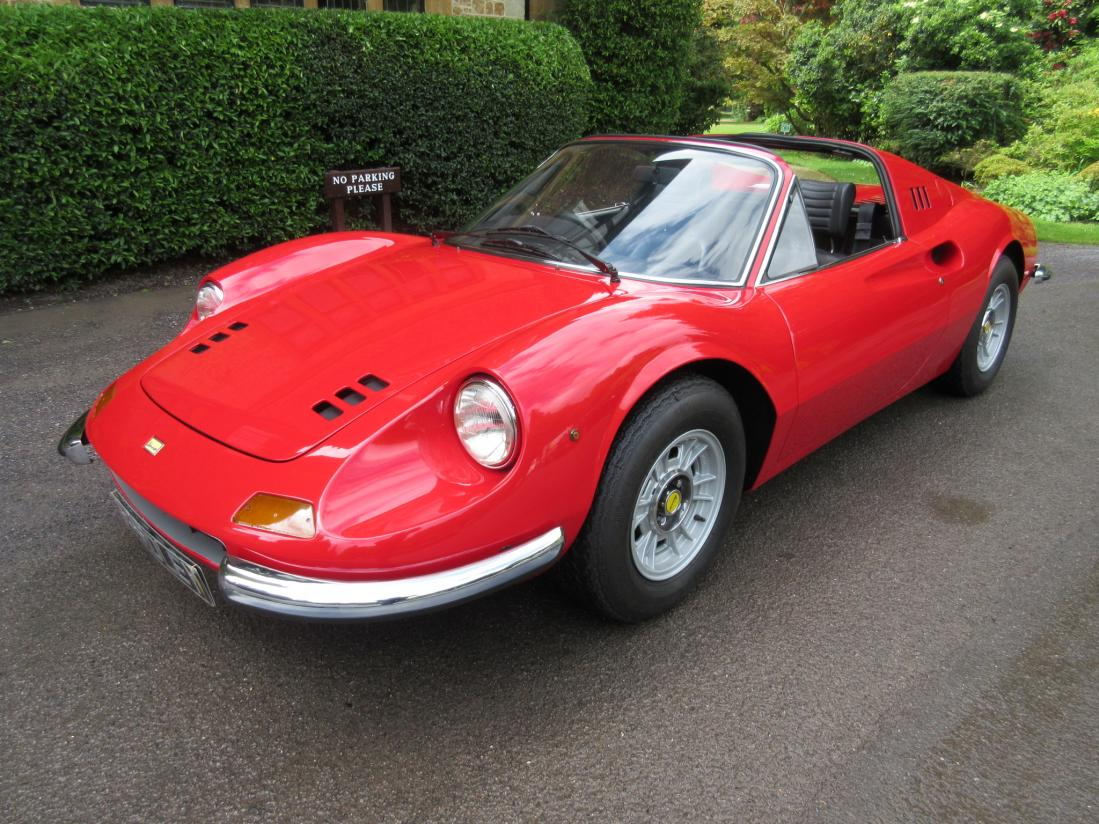 dino ferrari 246 gts used ferrari for sale. Black Bedroom Furniture Sets. Home Design Ideas