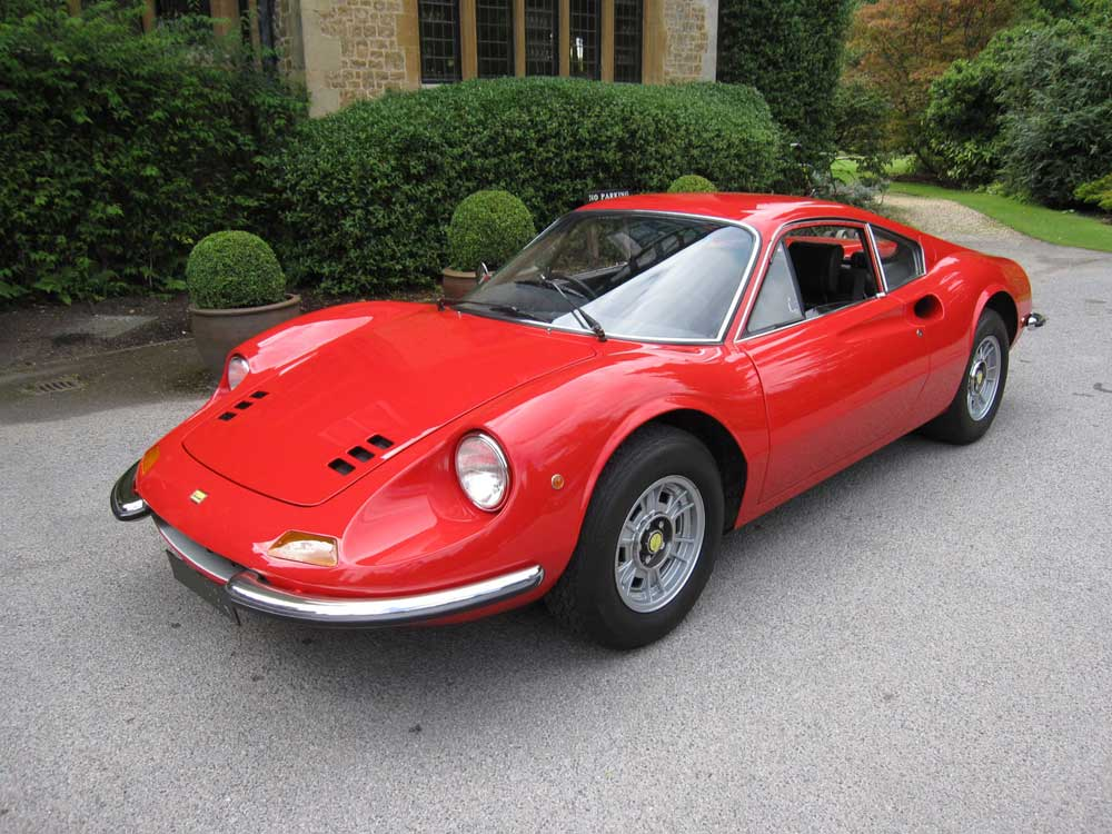 SOLD-ANOTHER REQUIRED 1971 Dino Ferrari 246 GT-M series