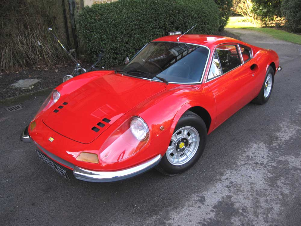 SOLD-ANOTHER REQUIRED 1972 Dino 246 GT