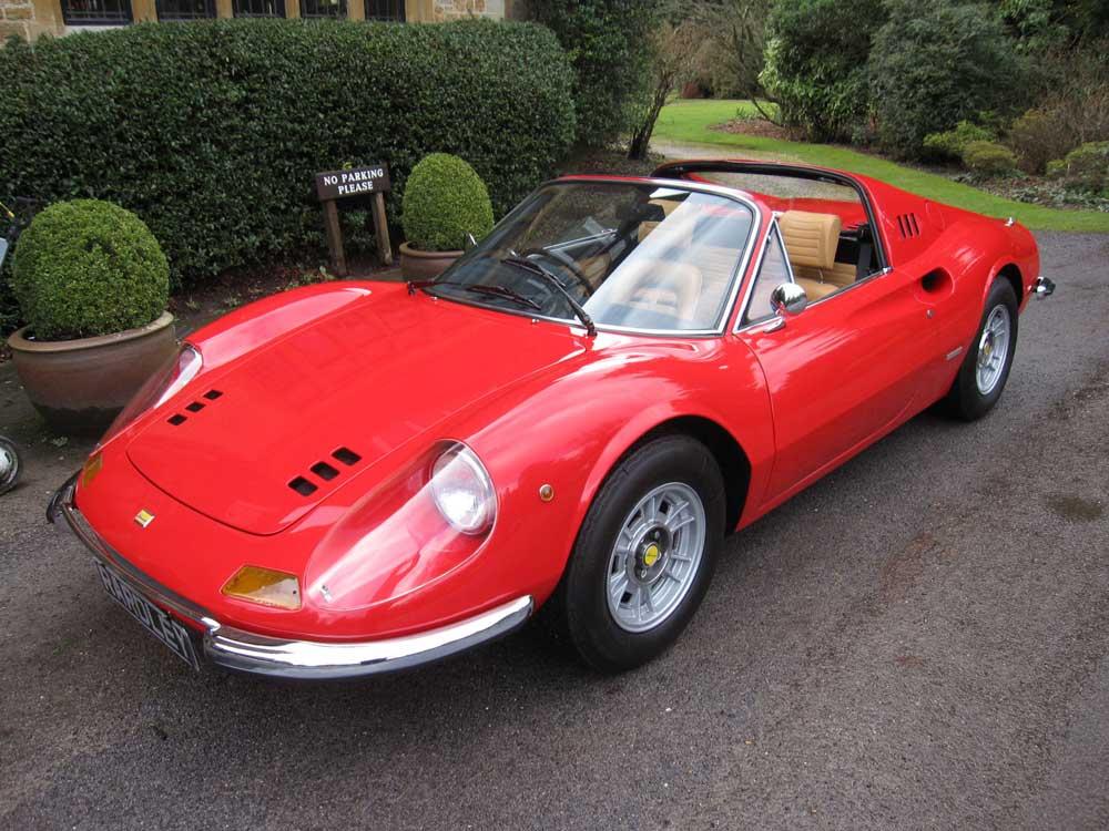 1973 Dino Ferrari 246 GTS