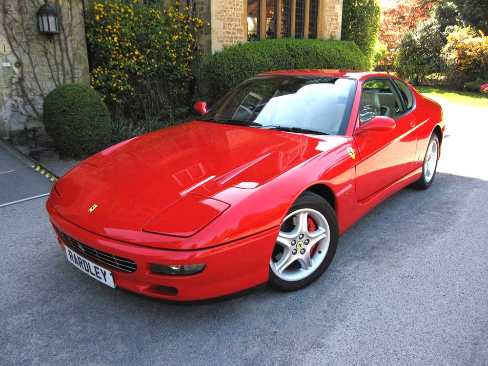1995 Ferrari 456 GT six speed manual