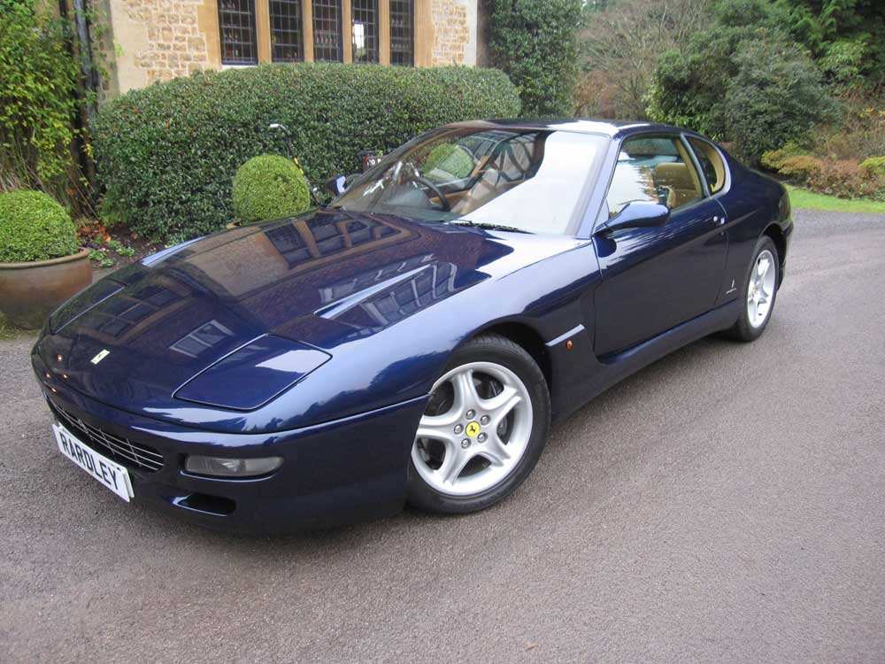 1995 Ferrari 456 GT-six speed manual with 69,000 miles