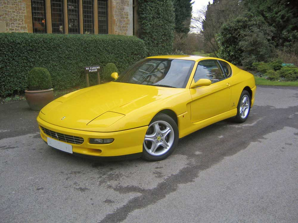 1995 Ferrari 456 GT six speed manual