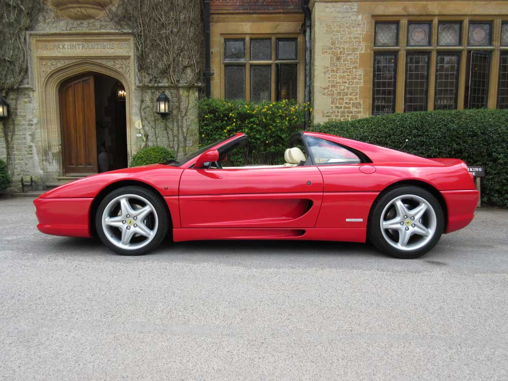 SOLD- ANOTHER REQUIRED 1995 Ferrari 355 GTS