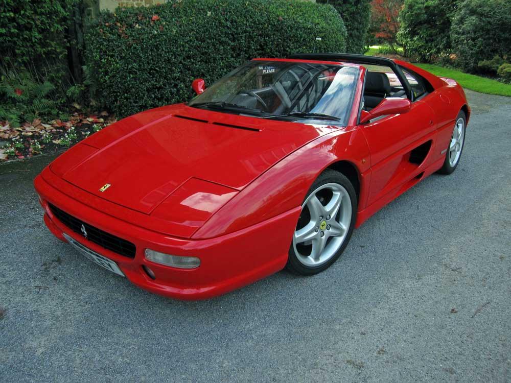 1995 Ferrari 355 GTS Two owners/17,000 miles