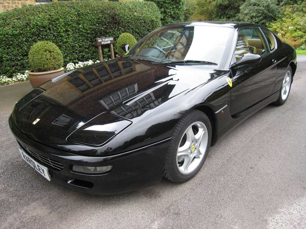 1995 Ferari 456 GT six speed manual.