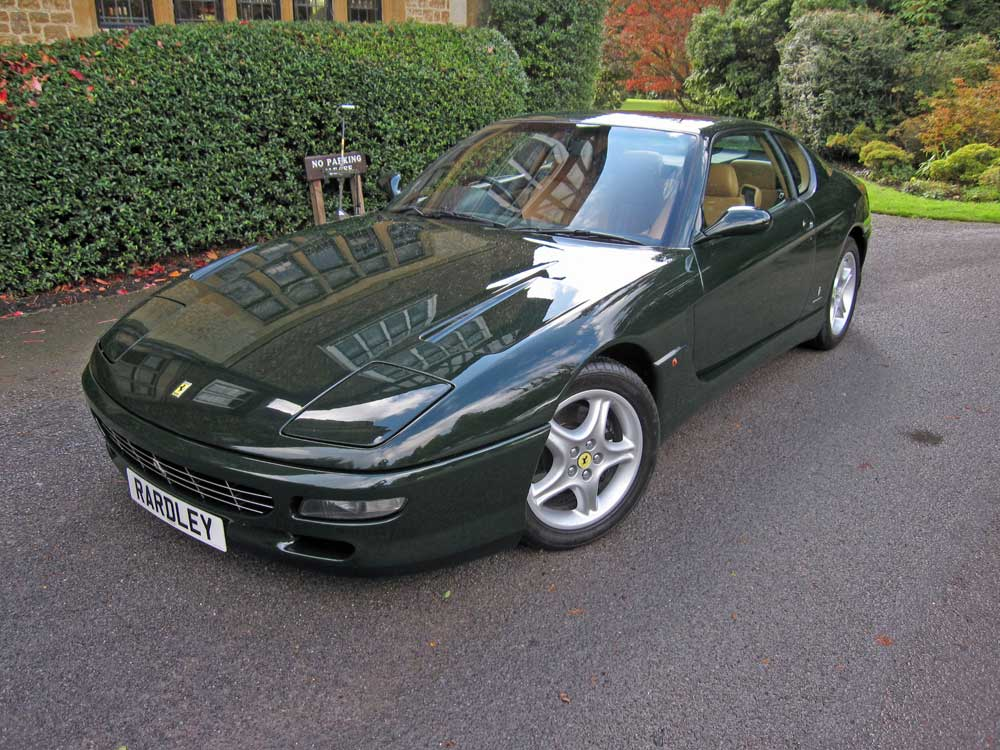 SOLD-ANOTHER REQUIRED 1996 Ferrari 456 GT
