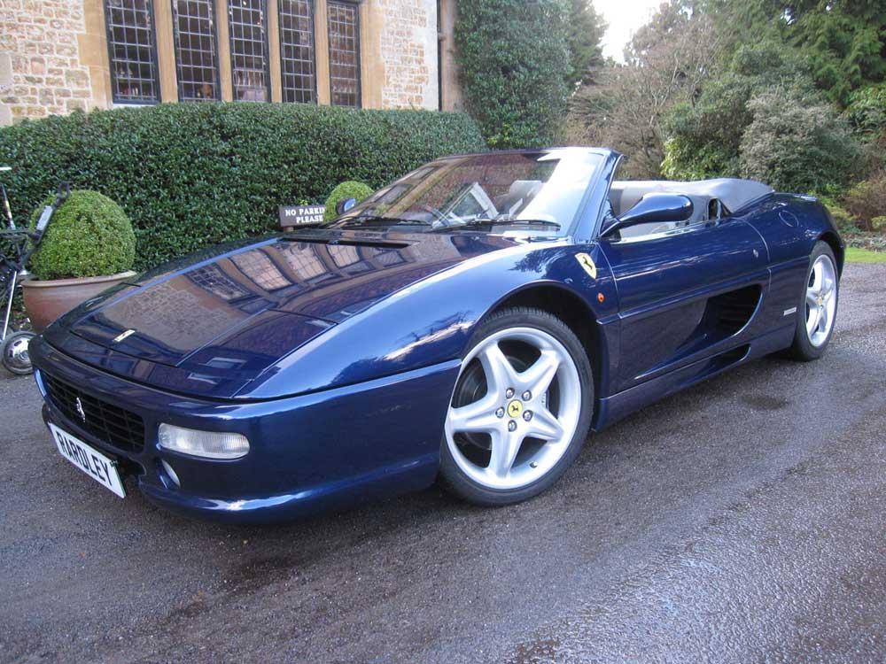 1996 ('97 my) Ferrari 355 Spider - six speed manual