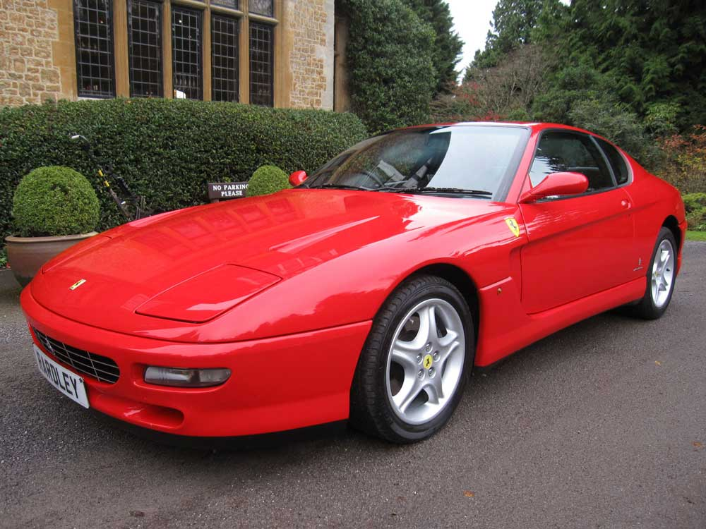 1995 Ferrari 456 GT-six speed manual