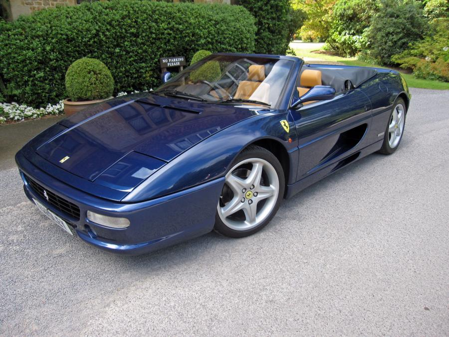 1998 Ferrari 355 spider 6-speed manual