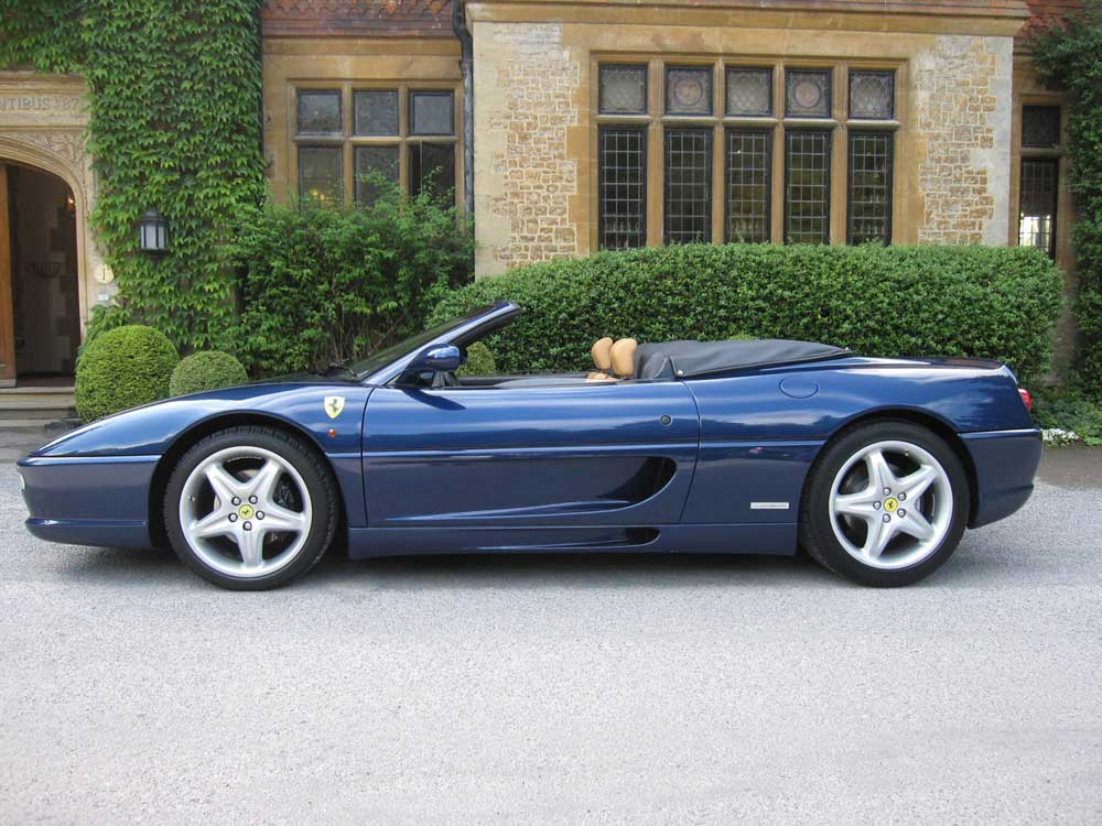 SOLD ANOTHER REQUIRED-1998 Ferrari 355 Spider