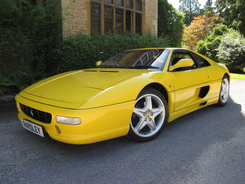 SOLD -ANOTHER REQUIRED 355 Berlinetta F1