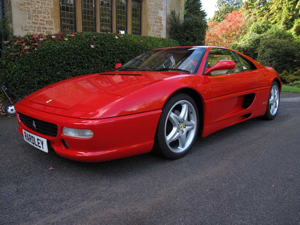 Arriving shortly 1998 Ferrari 355 Berlinetta manual
