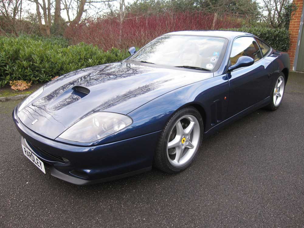 1998 Ferrari 550 Maranello -16,000 miles and only two owners