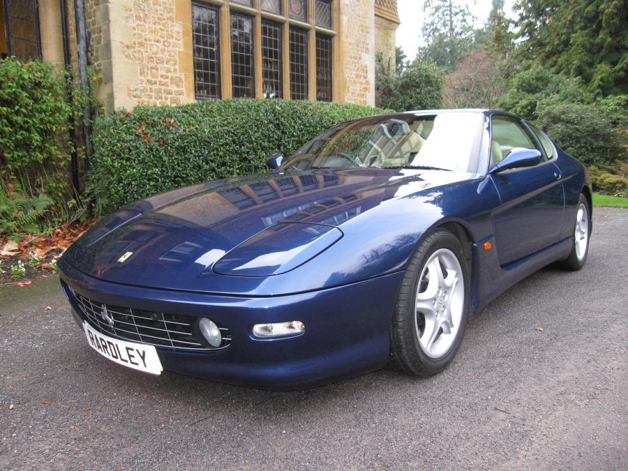 1999 Ferrari 456 M GTautomatic 13,500 miles