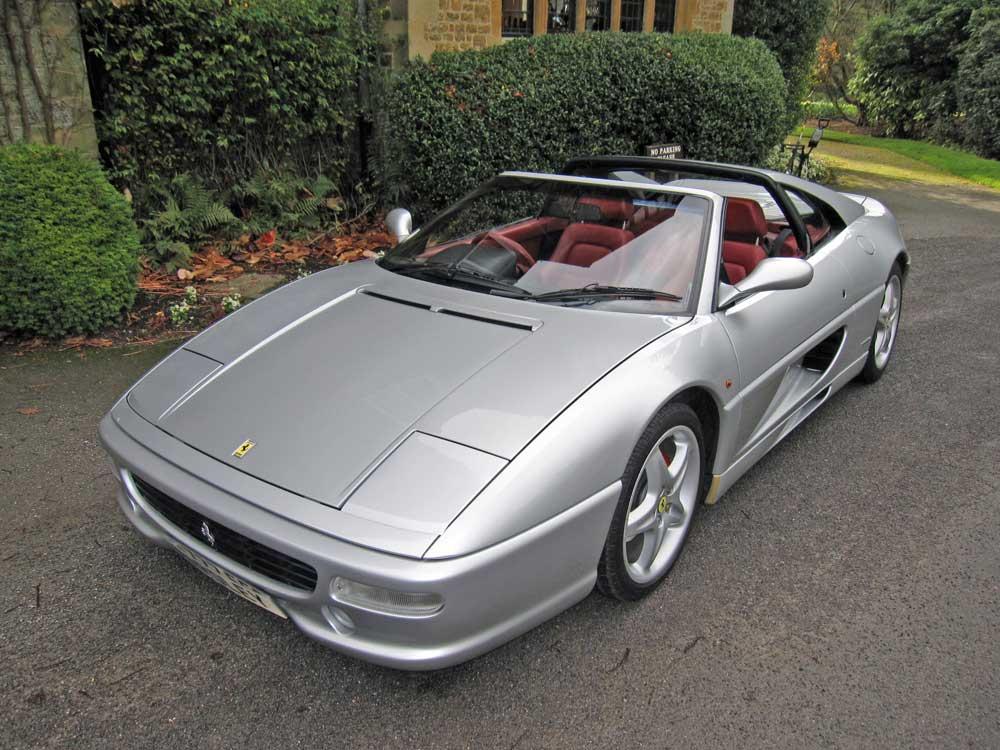 1998-99 model  Ferrari 355 GTS F1 -16,300 miles
