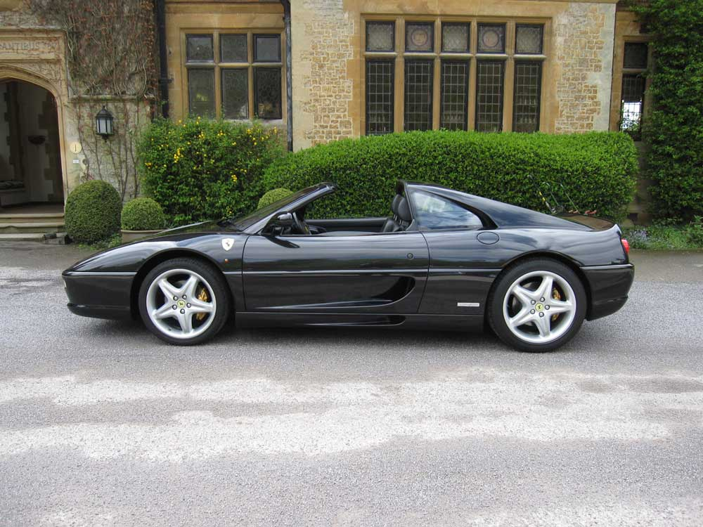 Another satisfied customer 1998 Ferrari 355 GTS F1