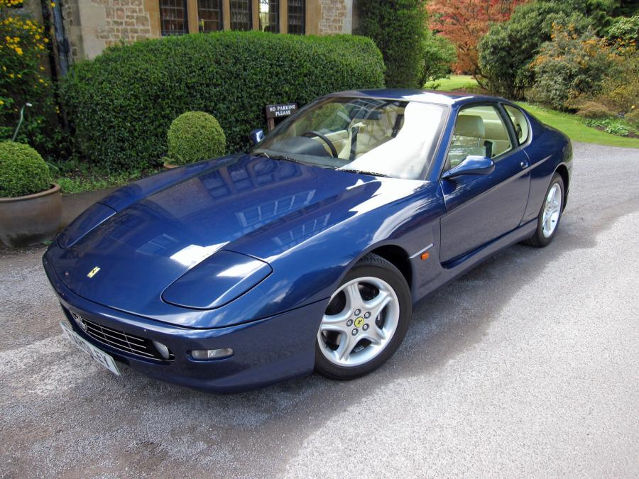 SOLD-ANOTHER REQUIRED 2000 Ferrari 456 M GTAutomatic