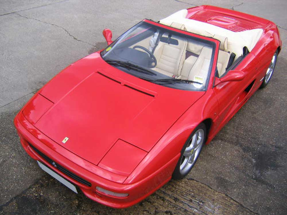 1999 Ferrari 355 spider six manual