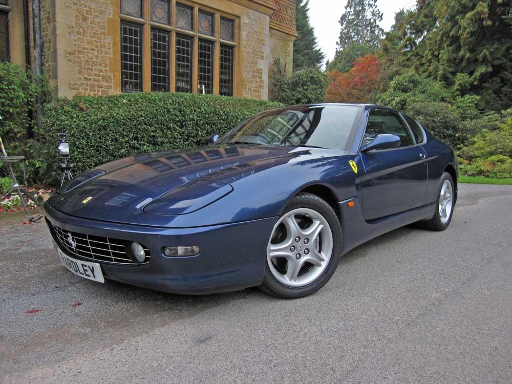2001 Ferrari 456 M GT Automatic -19,000 miles