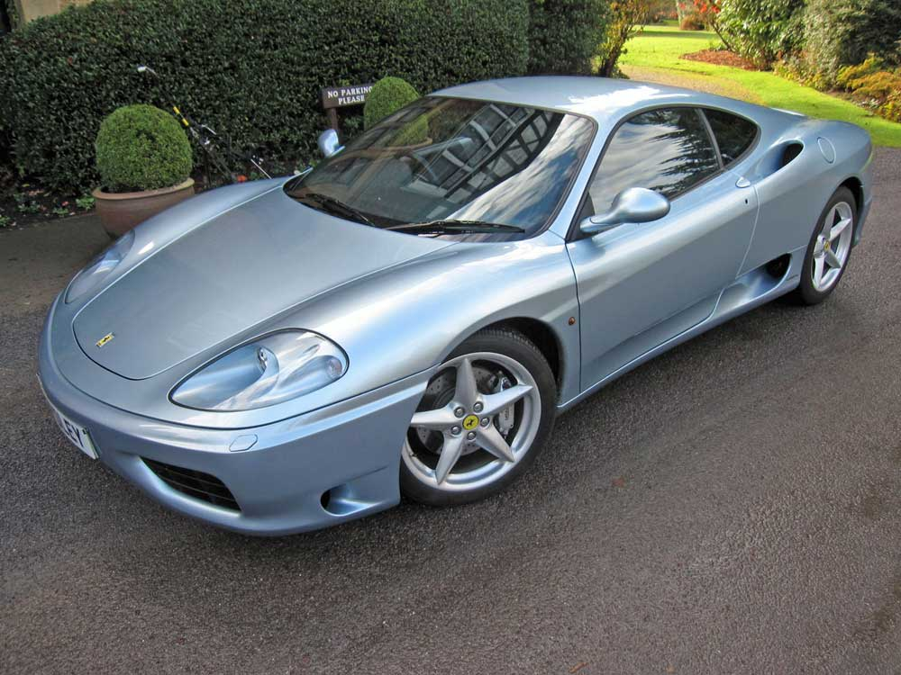 SOLD -ANOTHER REQUIRED  2001 Ferrari 360 Modena six speed manual