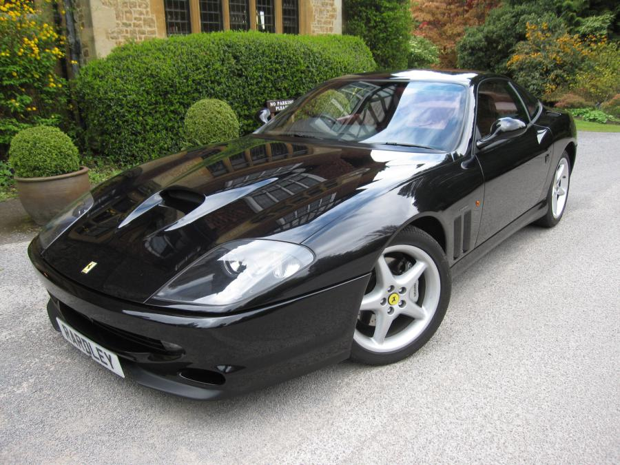 A satisfied seller -Ferrari 550 Maranello