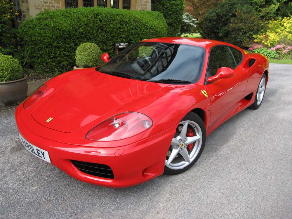 SOLD-ANOTHER REQUIRED 2002 Ferrari 360 F1 Modena