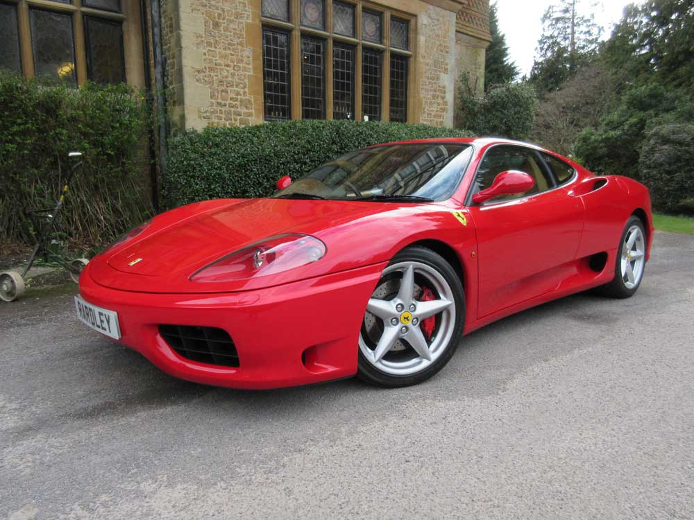 2003 Ferrari 360 Modena six speed manual