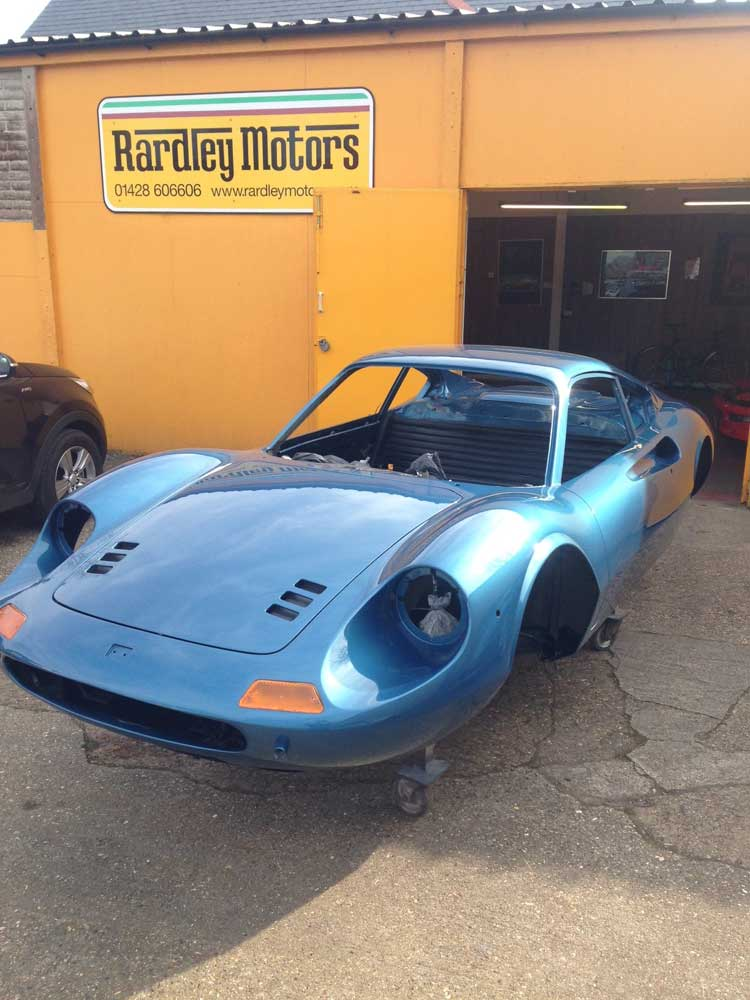 1972 Dino 246 GT returns for completion...