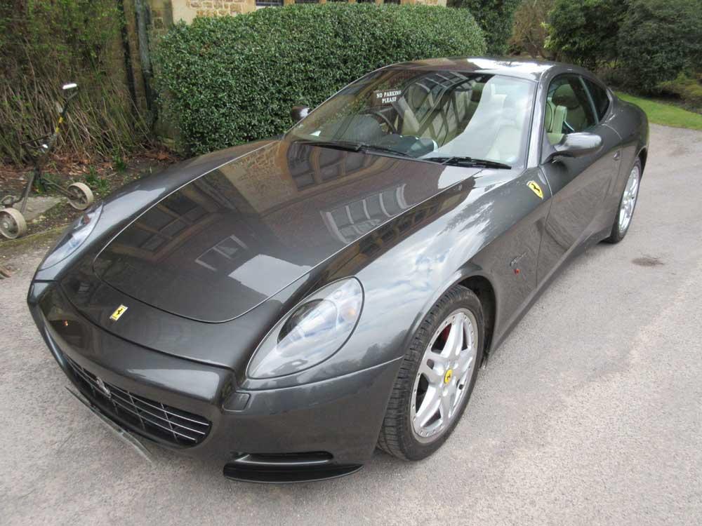 2005 Ferrari 612 GT six speed manual