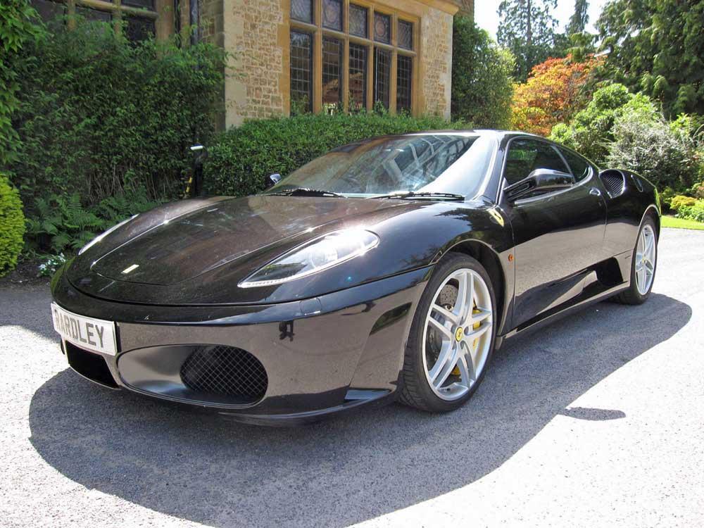 2006 Ferrari 430 F1 coupe.