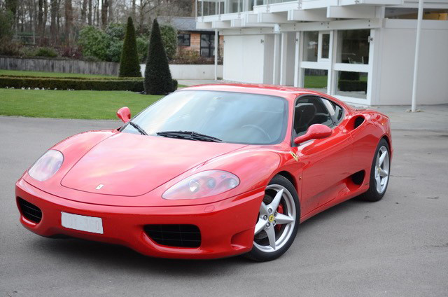 2000 Ferrari 360 F1 Modena left hand drive
