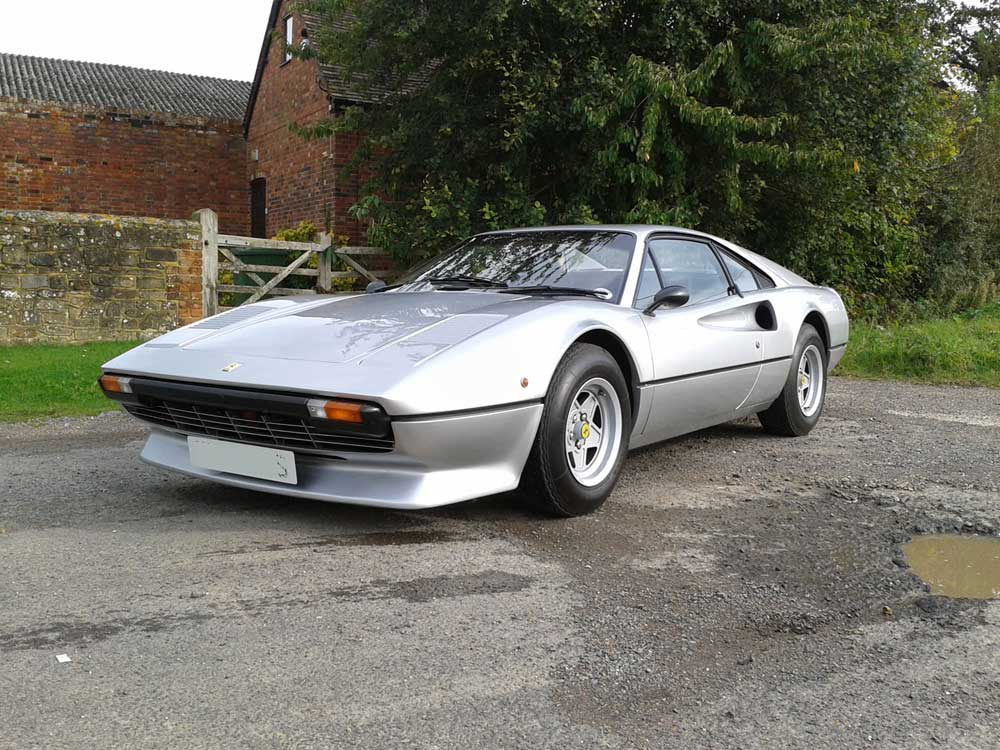 1978 Ferrari 308 GTB-26,000 miles-four owners from new.