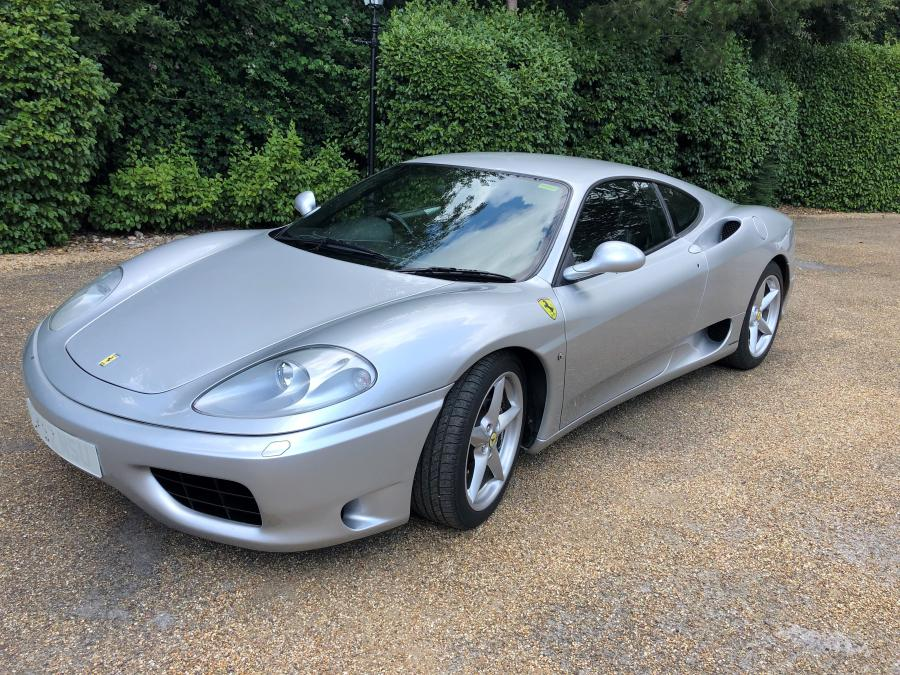2002 Ferrari 360 Modena manual with 27,000 miles