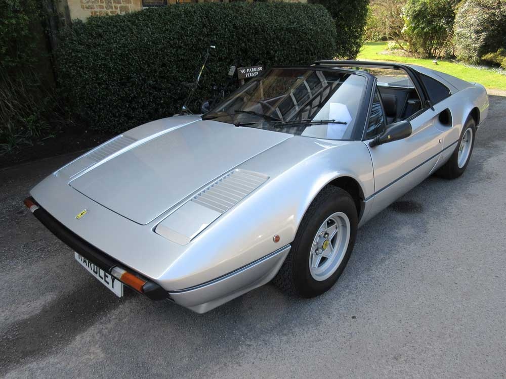 1981 Ferrari 308 GTS One of only 184 imported