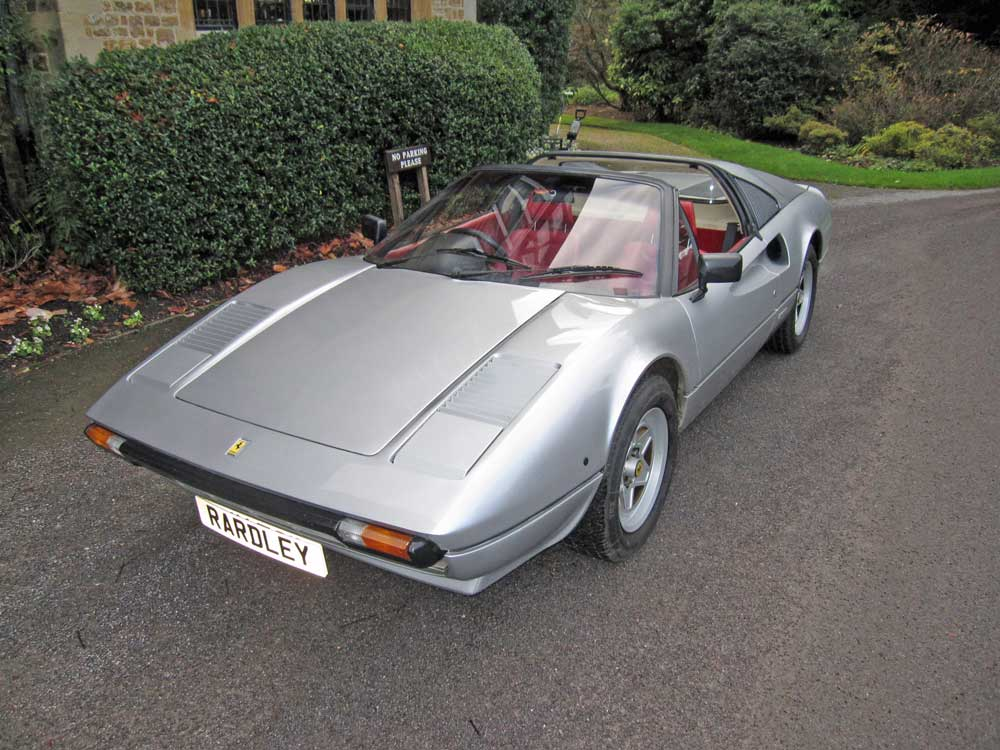 1982 Ferrari 308 GTSi -11,000 miles/Two owners