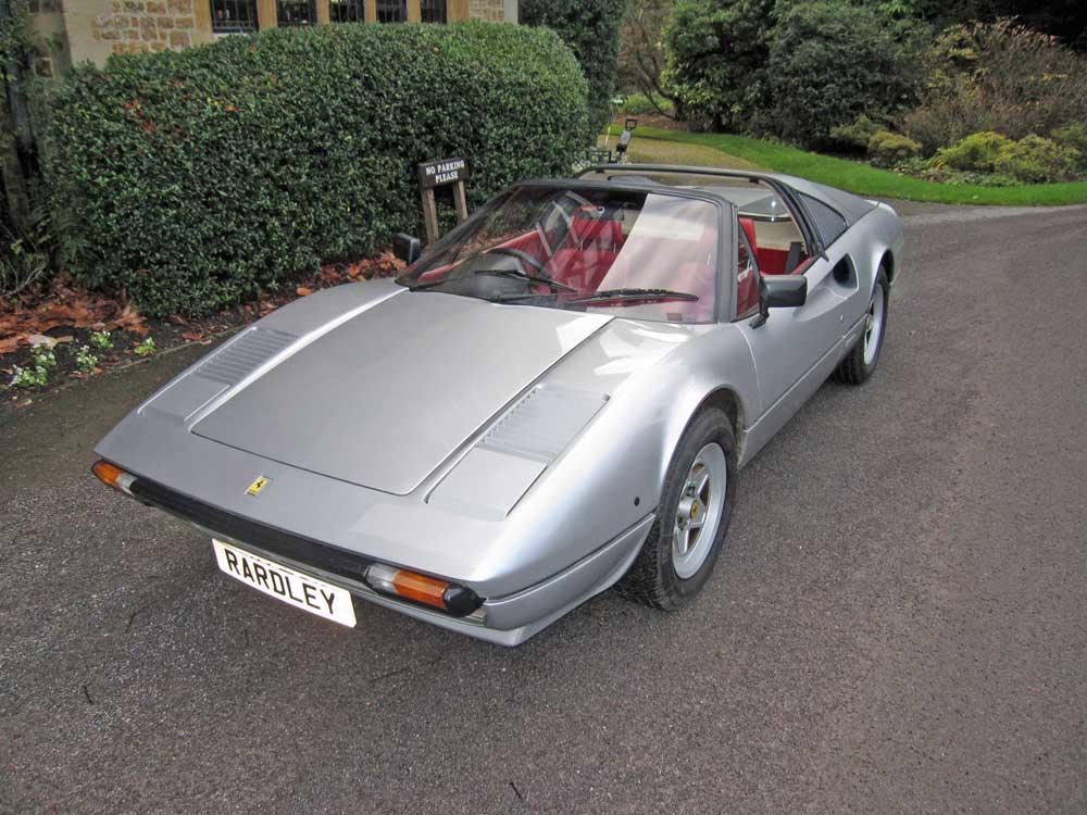 1982 Ferrari 308 GTSi -11,000 miles/Two owners