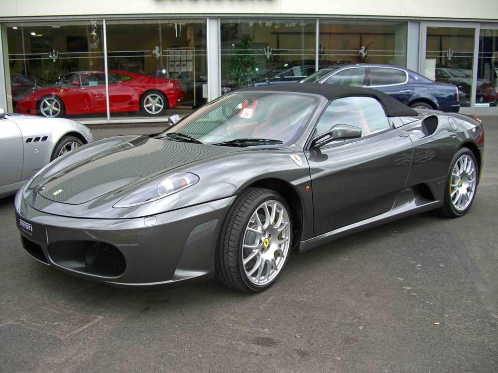 2008 Ferrari 430 F1 Modena Spider-huge saving!