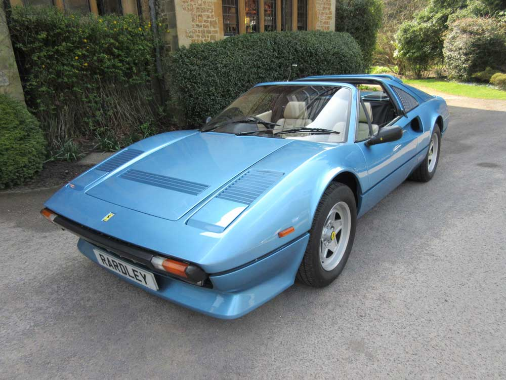 1985 Ferrari 308 GTS QV One of two or three