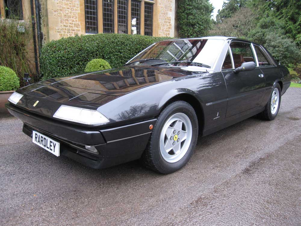 Just arrived 1987 Ferrari 412 GTi.One of only 24 UK