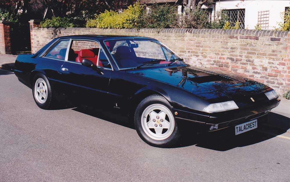 1987 Ferrari 412 GTi-one of 24 manual examples