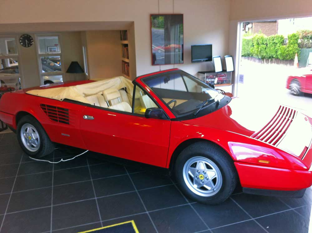 SOLD ANOTHER REQUIRED  Ferrari Mondial 3.2 Cabriolet-15,000 miles