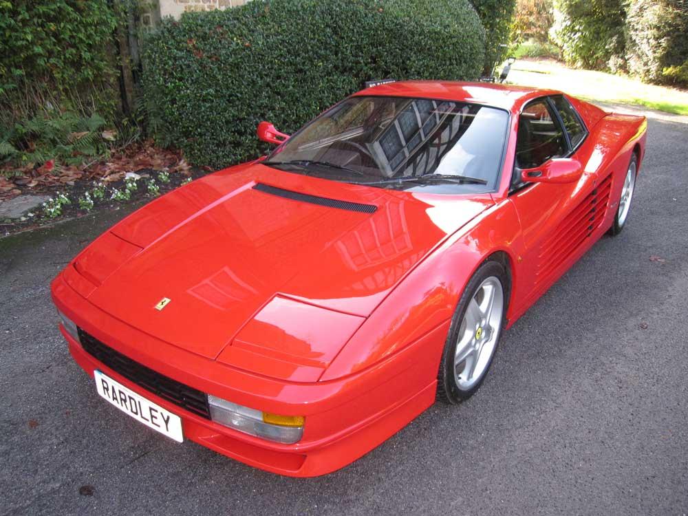 1988 Ferrari Testarossa-One owner/5,000 miles