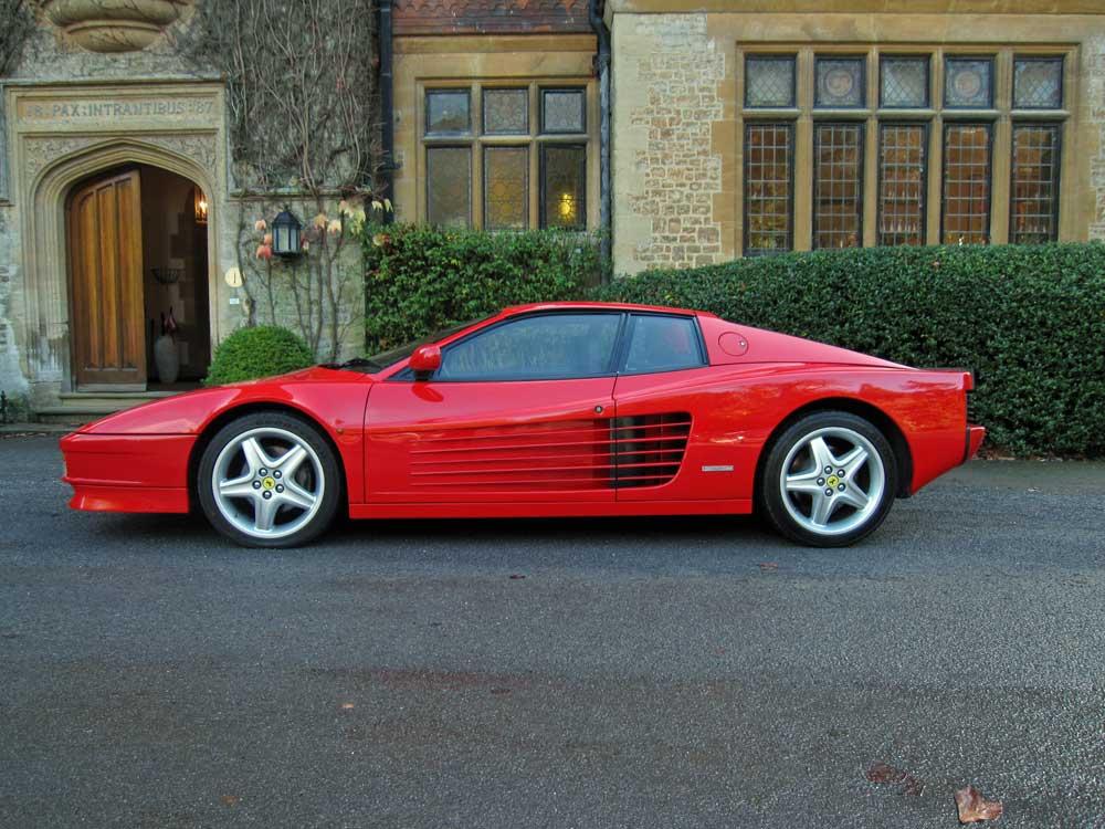 SOLD-Another required 1988 Ferrari Testarossa