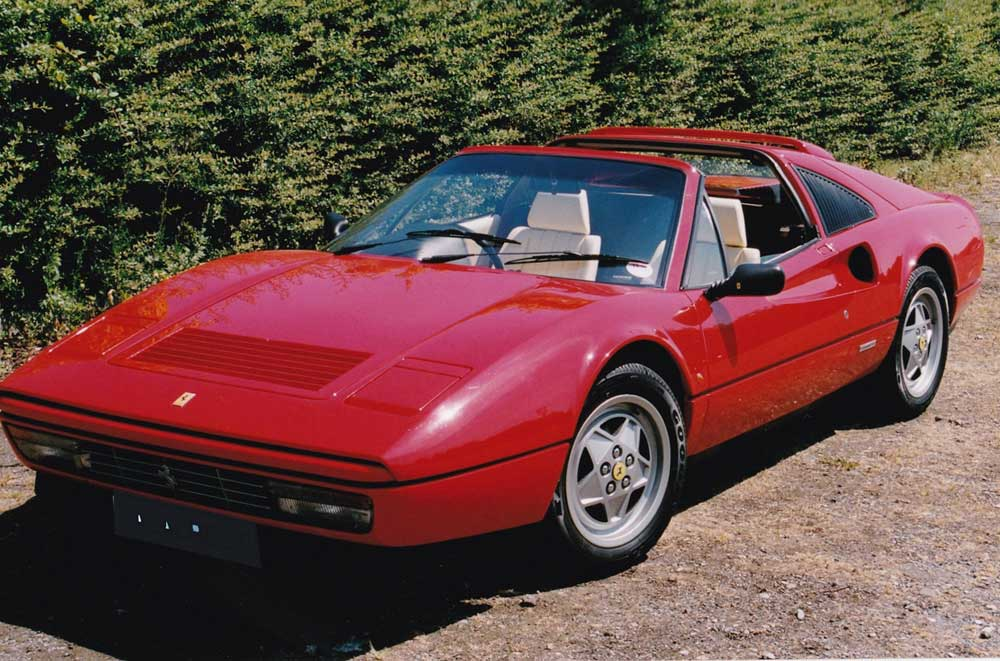 Arriving shortly 1989 Ferrari 328 GTS-28,000 miles