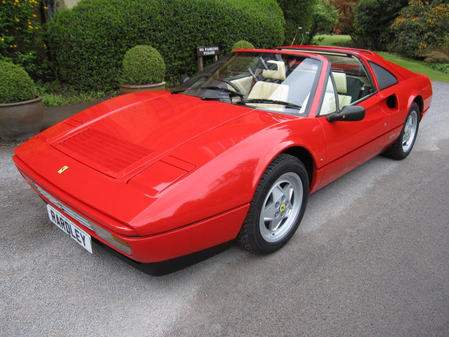 1988 Ferrari 328 GTS One owner/8,000 miles