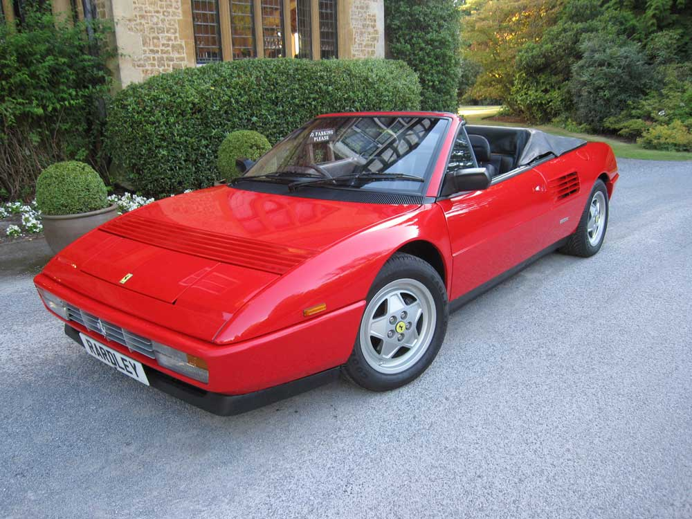 Another satisfied customer 1990 Ferrari Mondial 3.4 t cabriolet