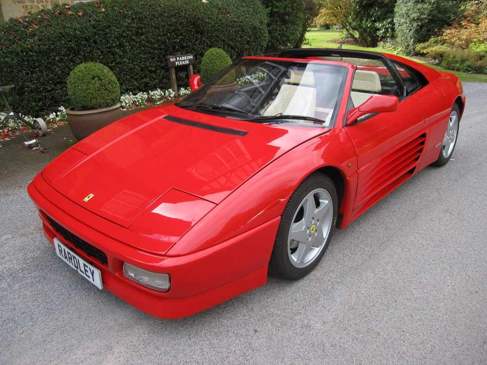 1993 Ferrari 348 TS-28,000 miles