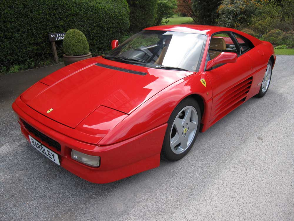 Another satisfied customer 1992 Ferrari 348 TB