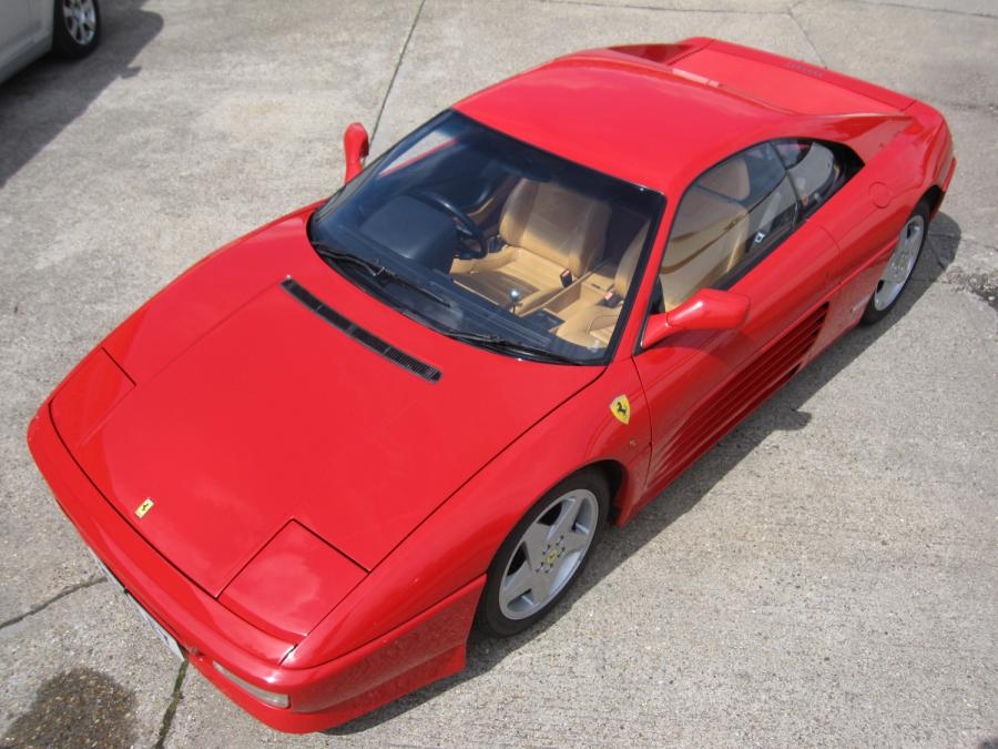 SOLD-Another required  Ferrari 348 TB-The very last car imported and registered